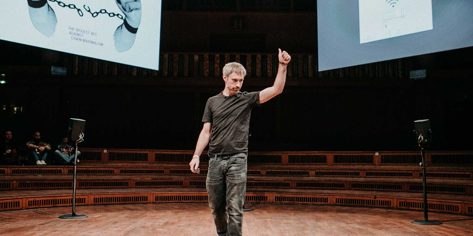 Gav Wood at Web3 Summit